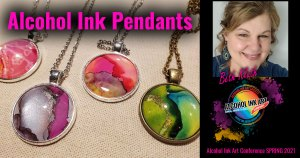Alcohol Ink Pendants