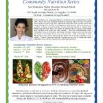 Community Nutrition Series – Eating Healthier During The Holidays