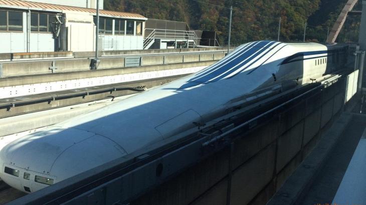 超電導リニア体験乗車 山梨実験センター