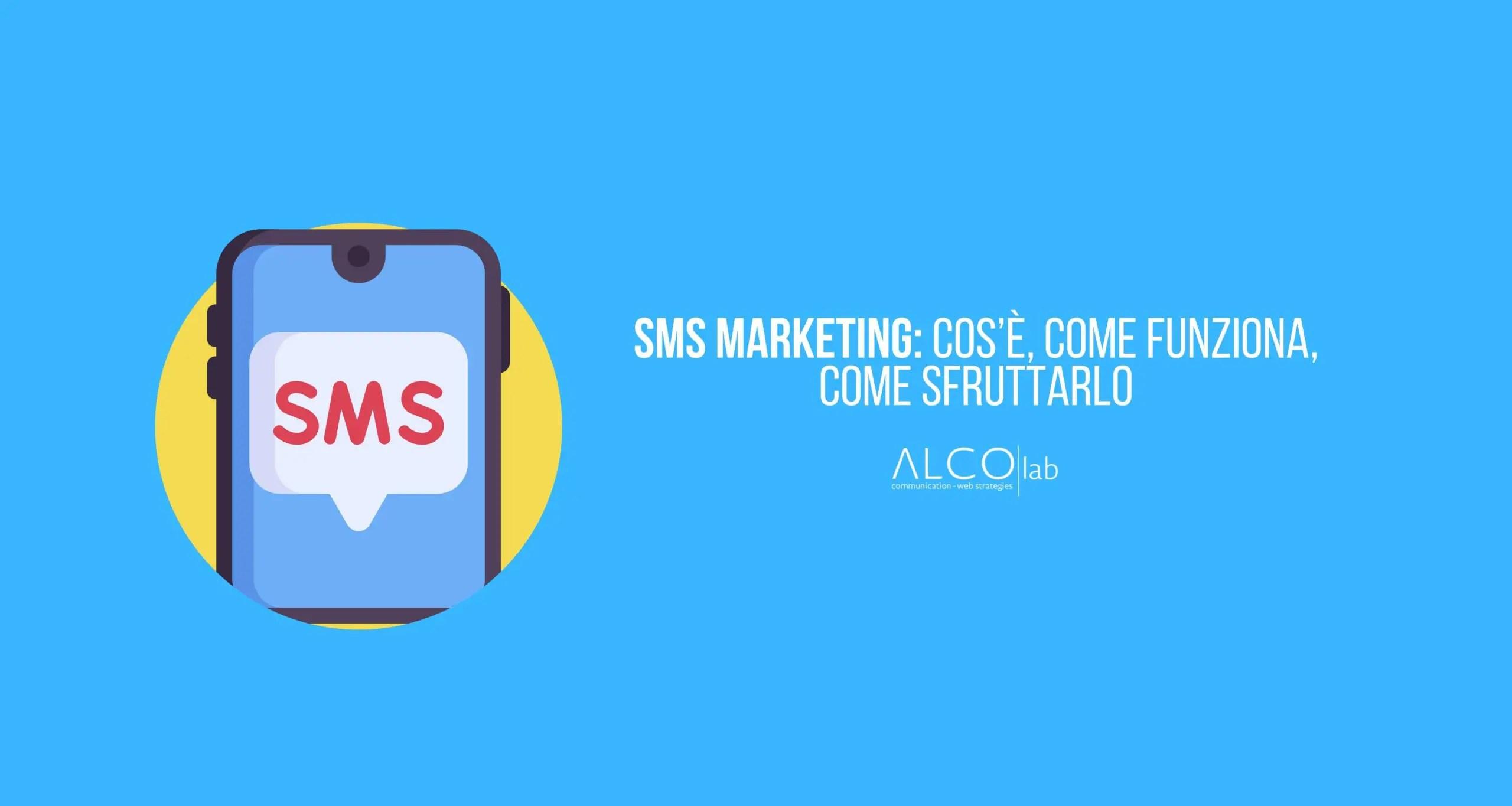 sms marketing cos'è