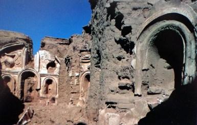 Ruinas de la misión jesuita de Cocóspera, en Sonora, México.