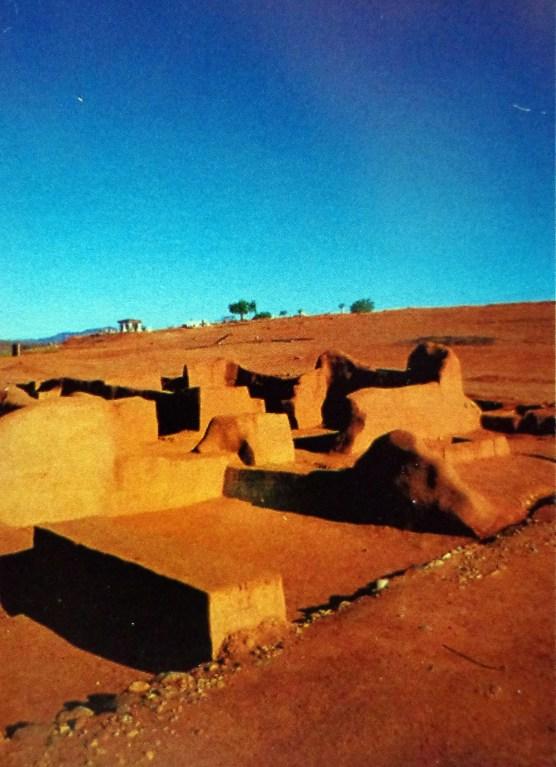 Ruinas de la misión jesuita de San Francisco de Borja, en Baja California, México.