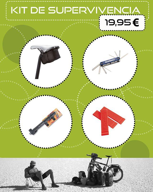 Date prisa!!! Kit de supervivencia por 19,95€, hasta fin de existencias.