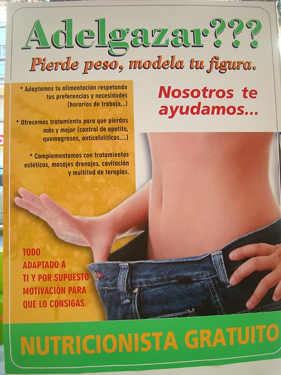 """ratamiento """"pierde peso"""".Consulta,nutricionista y seguimiento GRATIS. Reserva cita en 916 441 230. Diles que vas de parte de AlcorconHoy."""
