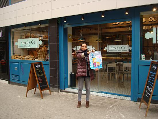 Bread & Co lleva con nosotros en Alcorcón desde hace bien poco para ofrecernos una gran marca de panadería artesanal con horno propio instalado en el mismo local