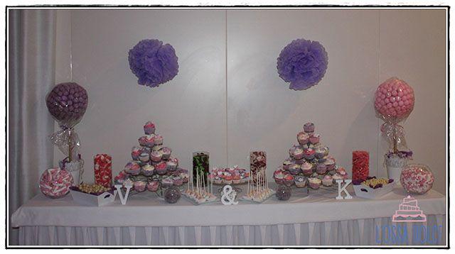 Encárganos tu mesa dulce para ceremonias, cumpleaños, fiestas… totalmente personalizada, porque es tu día