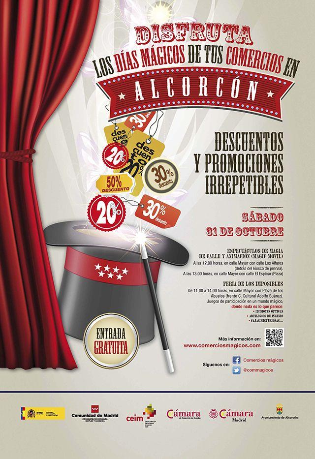 La gran fiesta del Comercio Mágico Alcorcón