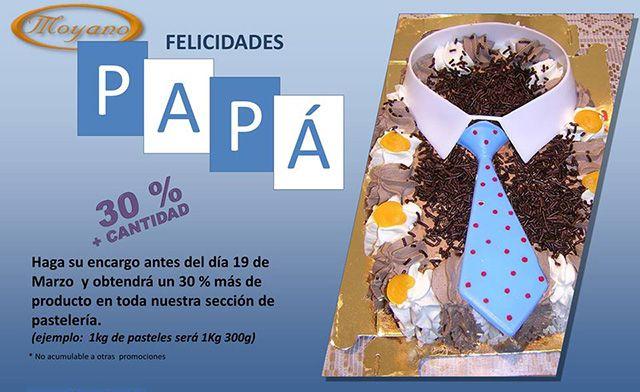 Día del Padre En Pastelería Moyano