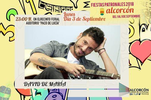 Fiestas de Alcorcón 2018 - David de María