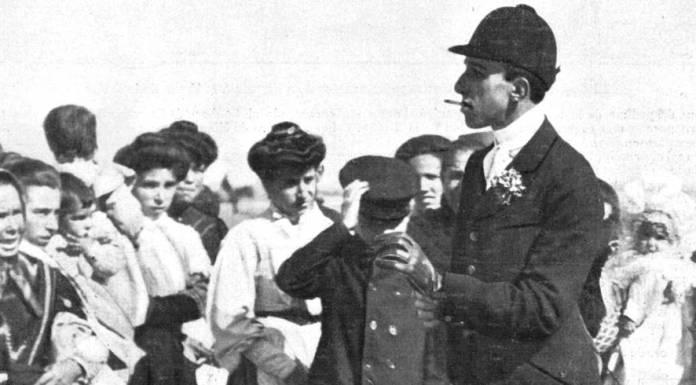 El Rey Alfonso XIII en Alcorcón en el año 1907