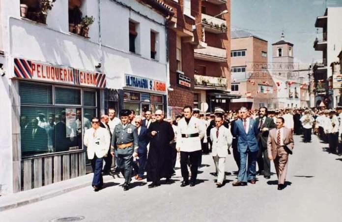 Imagen de la calle Mayor en 1973