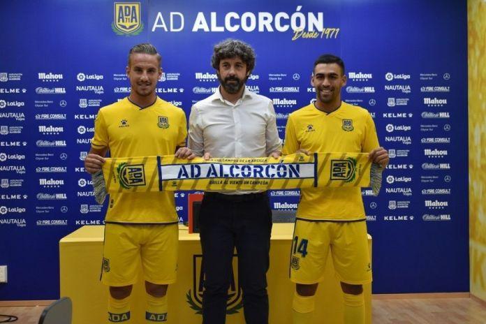 Romera y Reko fueron presentados con el Alcorcón