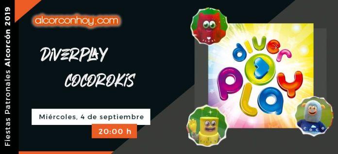 Fiestas Patronales Alcorcón 2019 - Diverplay y Cocorokis