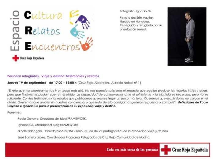 Jornada sobre refugiados en el espacio CRE de Cruz Roja Alcorcón