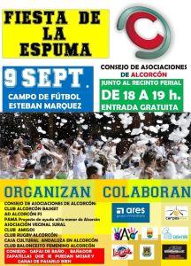 Programación lunes 9 septiembre Fiestas de Alcorcón