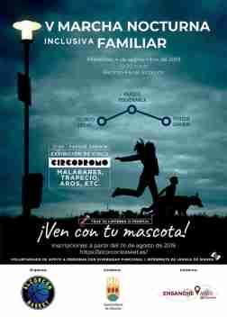 Deporte inclusivo nocturno en la noche de Alcorcón