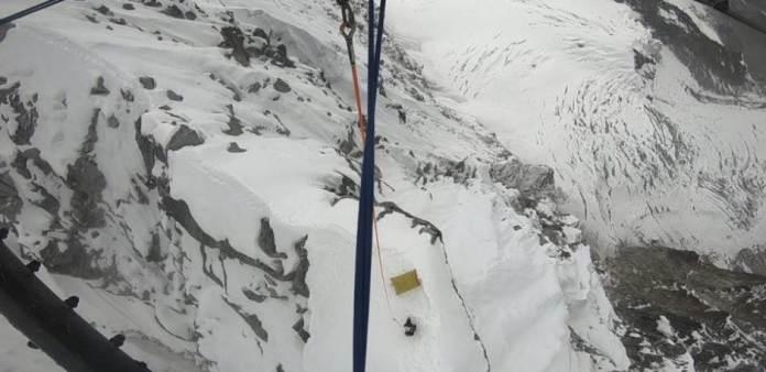 Accidente en el Himalaya