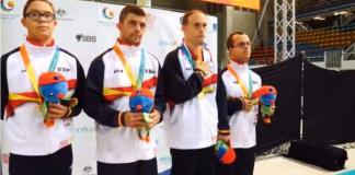 Doble oro mundial para el alcorconero Carlos Hernández