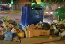 ESMASA reconoce acumulaciones de basura por encima de lo habitual en Alcorcón