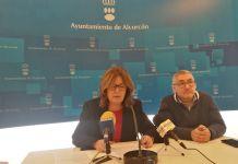 """""""La derecha en Alcorcón se quiere dedicar a cobrar el sueldo y no ir a trabajar"""""""