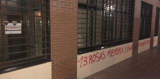 Los locales que ocupan ambos grupos municipales amanecieron este domingo con diferentes desperfectos. Pintadas y desperfectos en las sedes de Ciudadanos y Vox Alcorcón.
