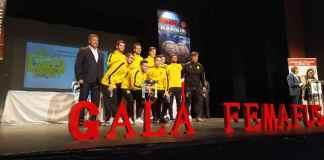 Alcorcón protagonista en la Gala de la Federación Madrileña de Fútbol Sala