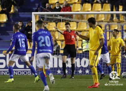 El peor partido del Alcorcón en la temporada