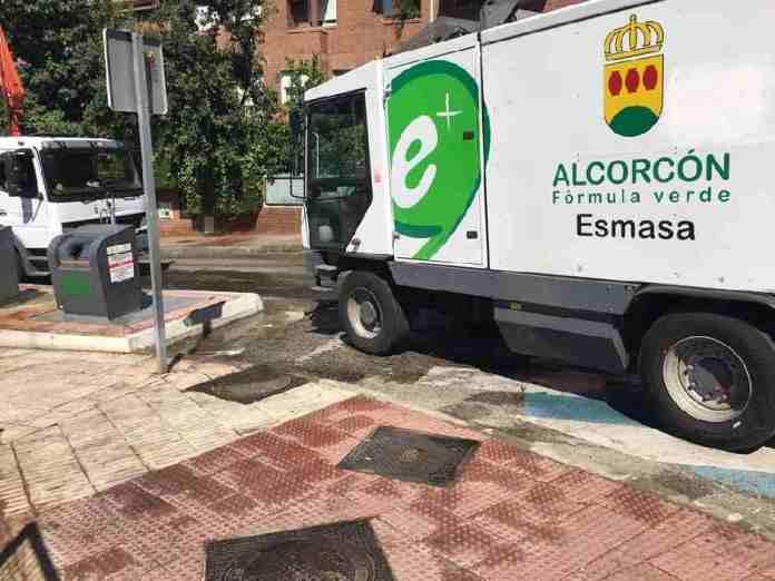 Innovación en la limpieza con los trabajadores de ESMASA Alcorcón