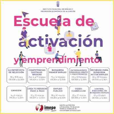 Alcorcón impulsa una nueva programación de la Escuela de Activación y Emprendimiento