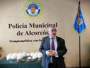 Material preventivo sanitario para Policía Municipal de Alcorcón