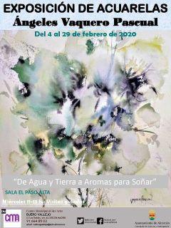 Febrero de exposiciones en Alcorcón