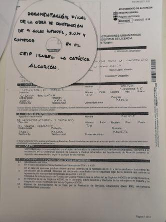 La Comunidad de Madrid ya ha solicitado la licencia del CEIP Isabel La Católica
