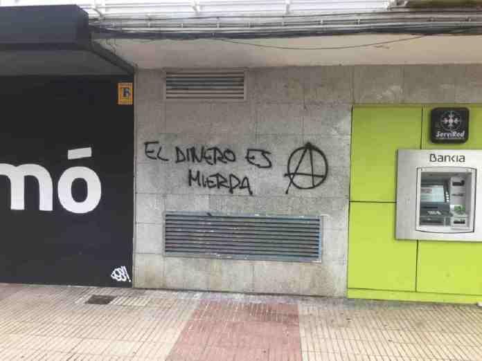 Alcorcón lleno de grafitis según Vox