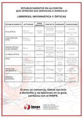 Más de una veintena de comercios de Alcorcón sirven a domicilio