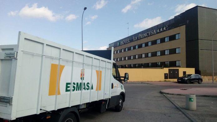 El Hotel La Princesa dona camas al Hospital Fundación Alcorcón