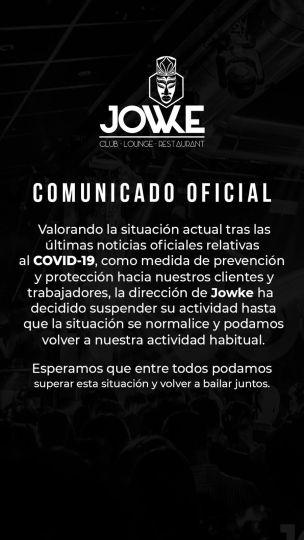 Jowke Alcorcón comprometido con la prevención ante el coronavirus