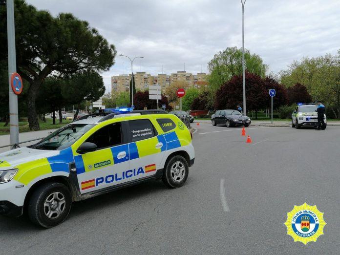 Desalojo en mitad del Estado de Alarma en Alcorcón
