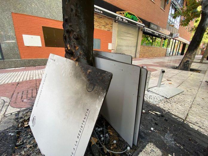 El restaurante O´ Río Miño de Alcorcón también afectado por el fuego