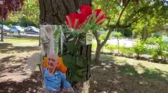 Homenaje a los mayores fallecidos en las residencias de Alcorcón