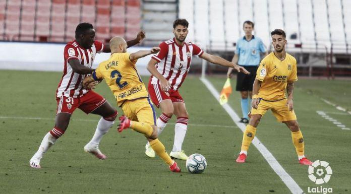 Almería 0-1 Alcorcón/ El Alcorcón conquista Almería con el gol de Ernesto