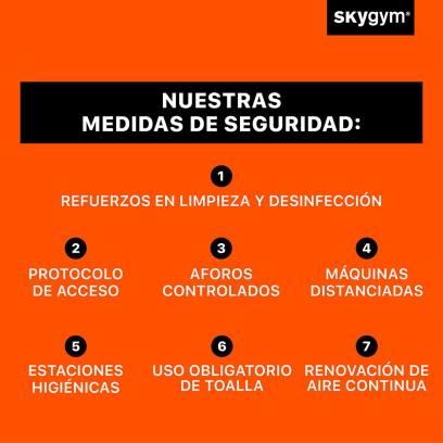 Vuelta al deporte en Skygym Alcorcón
