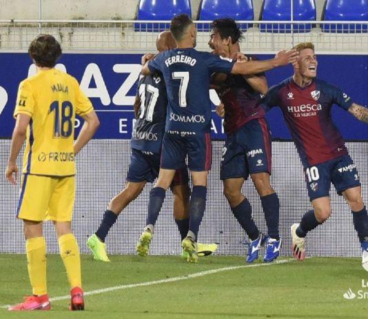 Huesca 2-1 Alcorcón/ El Alcorcón pierde la imbatibilidad a domicilio en el peor momento