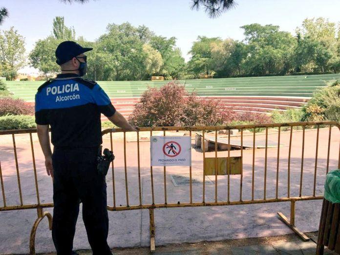 Multas de 600 euros por no llevar mascarilla en Alcorcón