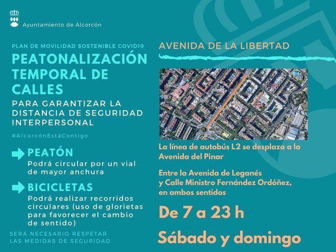 Lunes y martes cortes de tráfico en Alcorcón