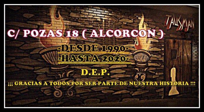 Se cierra El Talismán de Alcorcón