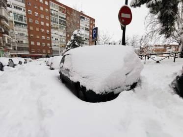 El justificante laboral para que los vecinos de Alcorcón no vayan a trabajar por el temporal