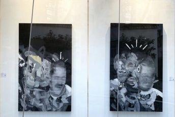 Las pinturas de un vecino de Alcorcón en Hong Kong