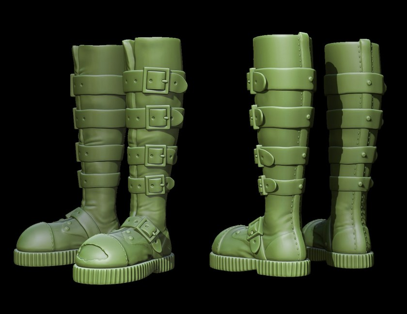 Dorothy_Boots_ZBrush_Render_FINAL_001