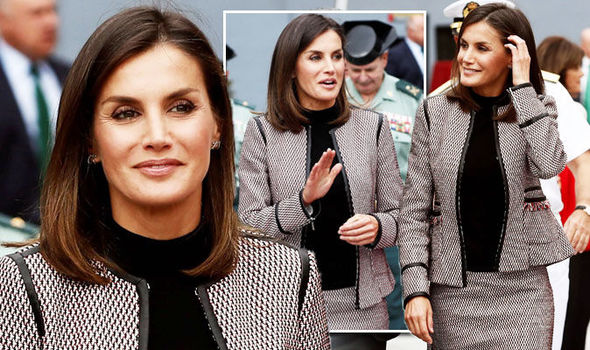 Queen of Spain fashion