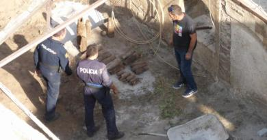 civil war bombs found in Alcoy